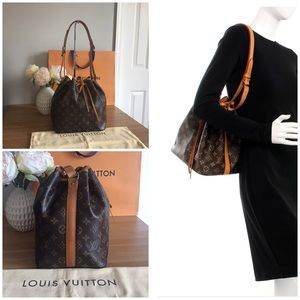 🛍LOUIS VUITTON Petite Noe Monogram Bucket Bag👜❤️